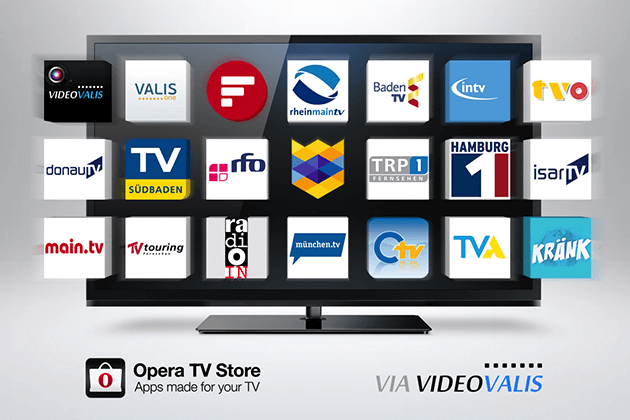 TV Snap в Opera tv browser